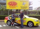Sharks rugby player receives G.U.D. vehicle sponsorship